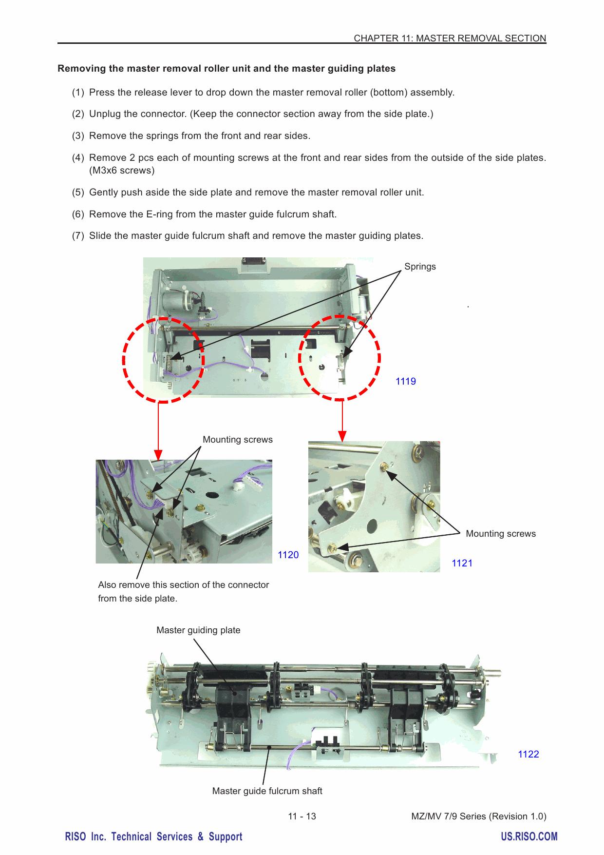 RISO MZ 770 790 970 990 MV-7690 TECHNICAL Service Manual-3